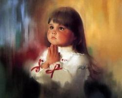 Enfant en prière 4