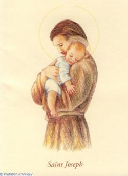 St Joseph et l'Enfant-Jésus 2