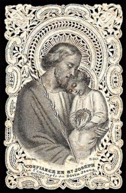 Image pieuse du XIXe