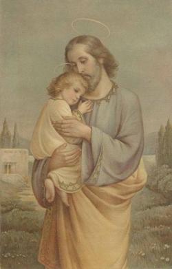 St Joseph et l'Enfant-Jésus 3