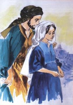 St Joseph et la Bse Vierge Marie