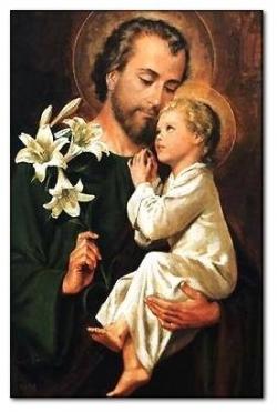 St Joseph et l'Enfant-Jésus 1