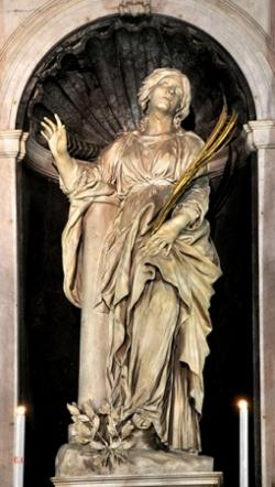 Ste Bibiane († 363)