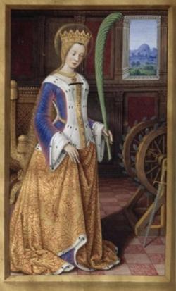 Ste Carherine d'Alexandrie († v. 307)