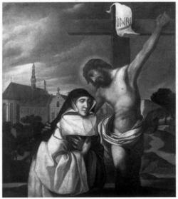 Ste Lutgarde de Saint-Trond (1182-1246)