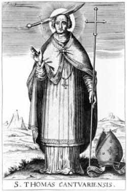 St Thomas Becket (1117-1170)