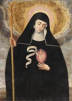 Ste Gertrude (la Grande)