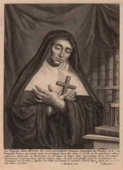 Ste Marie de l'Incarnation (1599-1672)