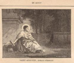 St Augustin (354-430)