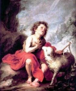 St Jean Baptiste enfant