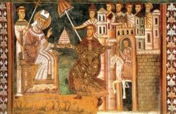 St Sylvestre (✝ 335)