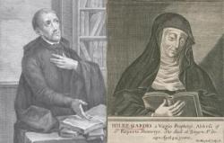 St Jean d'Avila & Ste Hildegarde de Bingen