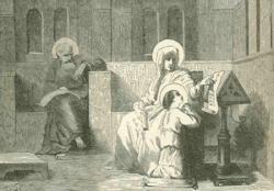 Ste Anne, St Joachim et la Bse Vierge Marie