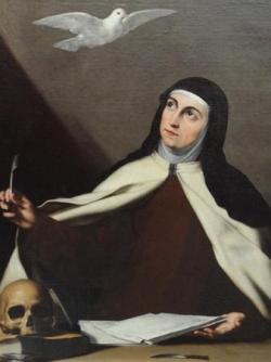 Ste Thérèse d'Avila (1515-1582)
