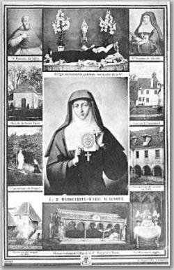 Ste Marguerite-Marie Alacoque (1647-1690)