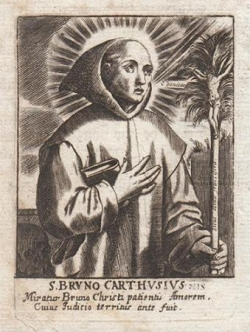 St Bruno (✝ 1101)