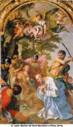 Sts Marcellin et Pierre, martyrs