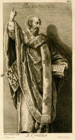 St Cyrille de Jérusalem (v.315-387)