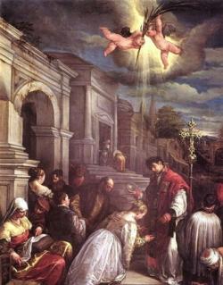 St Valentin (✝ v.270)