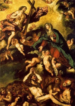 La Vierge intercède pour les âmes du Purgatoire 2