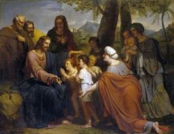 Jésus-Christ bénissant les enfants