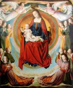 La Vierge Marie, par le Maitre de Moulins