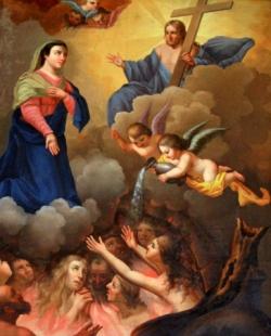 La Vierge intercède pour les âmes du Purgatoire 1