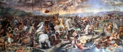 La bataille de Milvius