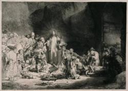 Le Christ prêchant