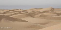 La mer de sable : l'immensité