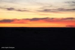 Le coucher du soleil ... et un autre jour nous rev