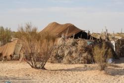 Camp de nomades croisé sur notre chemin