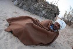 Chef des nomades croisé sur notre chemin