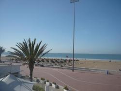 La plage d'agadir...