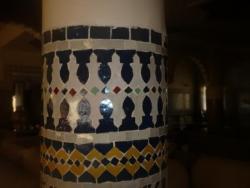 Colonnes en mosaique