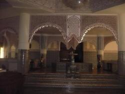 Stuc et mosaique dans une villa d'Essaouira...