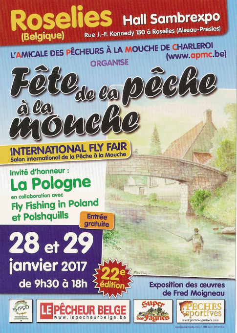 Enjoy fishing au salon et f te de la p che la mouche en belgique enjoy fishing - Salon de la peche a la mouche ...