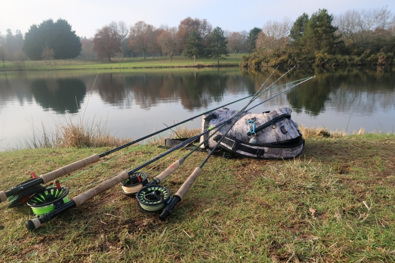 Pêche en réservoir en Bretagne avec Jean Baptiste Vidal