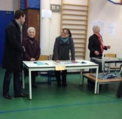 Tournée des bureaux de vote (22 avril 12)