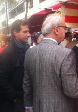 Au marché de l'Aveyron à Bercy (8 octobre 2011)