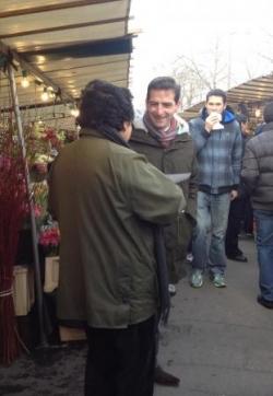 Sur le marché cours de Vincennes (1/12/12)