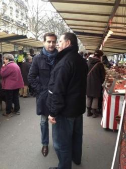 Marché cours de vincennes (9/11/13)