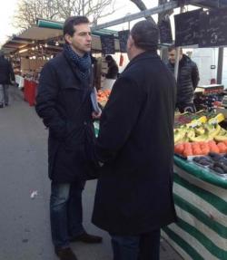 Terrain marché cours de Vincennes (16/2/13)