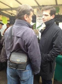 Marché Cours de Vincennes