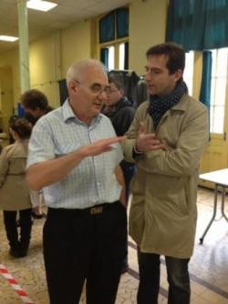 Tournée des bureaux de vote, 2d tour des éléctions