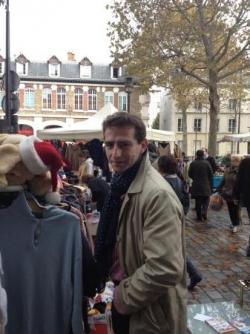 Au vide-grenier du quartier de Bercy (5 novembre 2