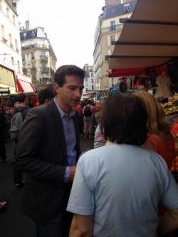 Terrain - Marché d'Aligre (6 juillet 2013)