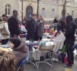 Terrain - Vide grenier rue Bignon (23/3/13)