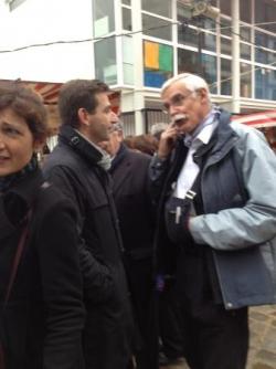 Au marché de l'Aveyron - quartier de Bercy (13 oct
