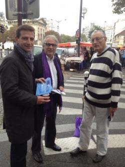 Tractage UDI (28/9/13) cours de Vincennes
